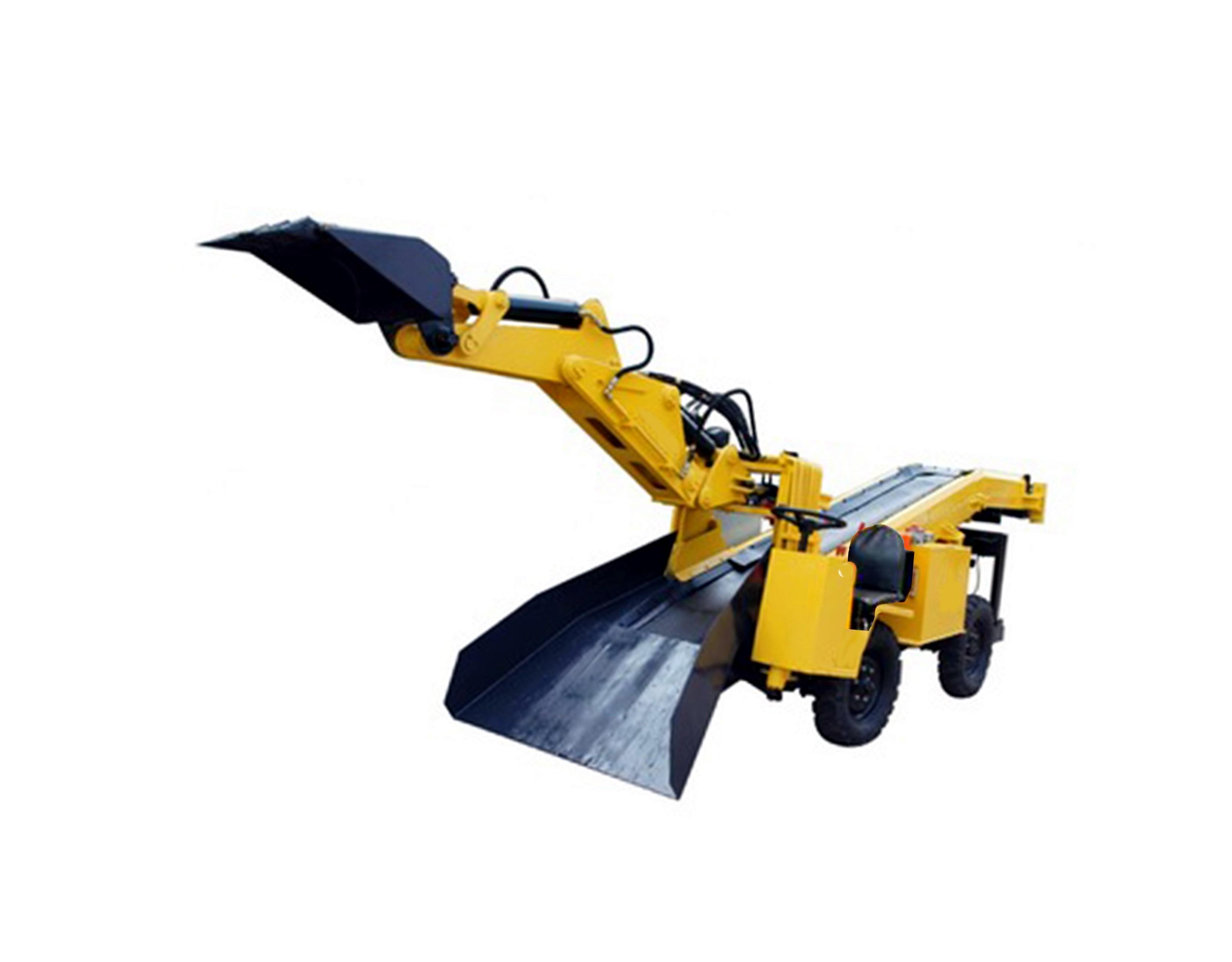 河南轮胎式挖掘装载机(皮带)