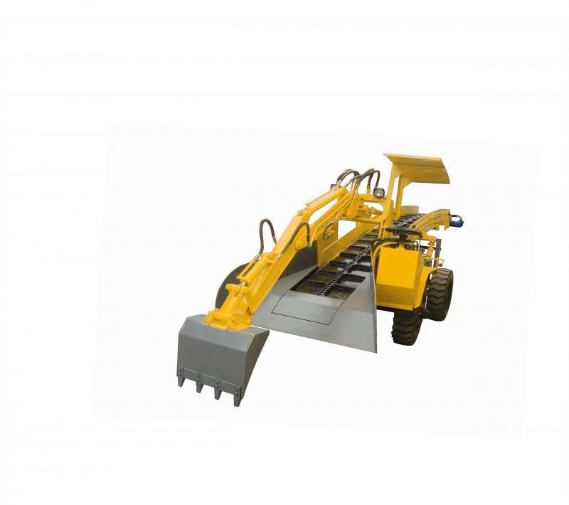 轮胎式挖掘装载机(链条)